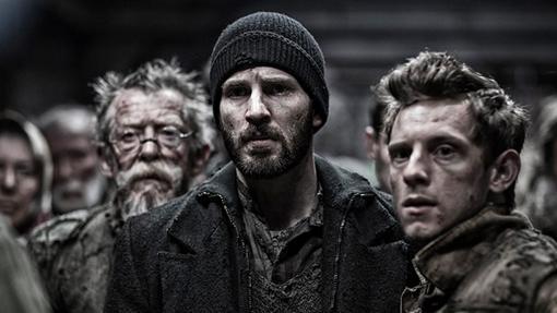 Los protagonistas de la versión en cines de Snowpiercer