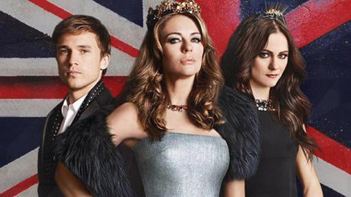 Miembros de la familia real británica de The Royals