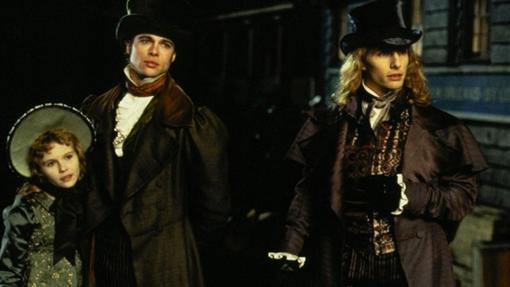 Brad Pitt, Tom Cruise y una joven Kirsten Dunst en Entrevista con el vampiro