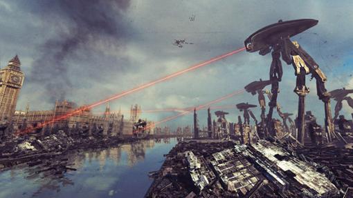 La invasión alienígena de la Guerra de los Mundos