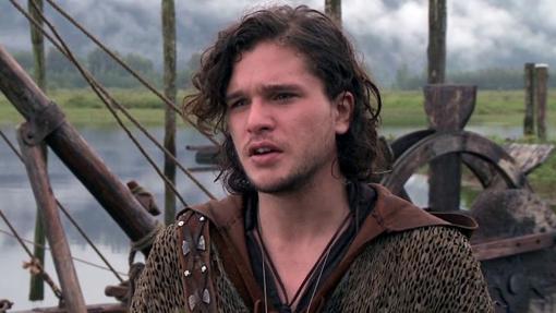 Kit Harington, el Jon Nieve de Juego de Tronos acumula varias participaciones en películas que se han estrellado en taquilla. Aquí un fotograma de El Séptimo Hijo