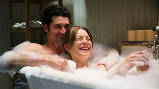 Hubo un tiempo en el que Meredith Grey era muy feliz... lastima que pasó....