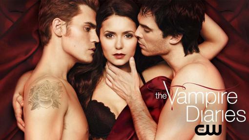 El trío de Elena y los Salvatore