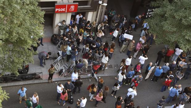 Sede del PSOE en Ferraz