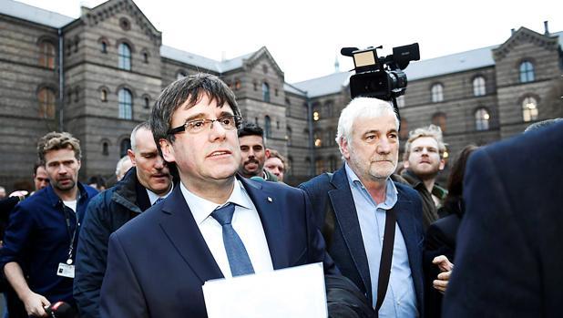 Puigdemont, en Copenhague el pasado lunes