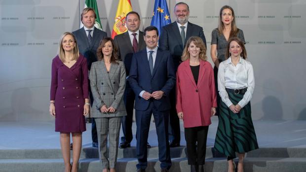 Ana Mestre tomo posesión de su cargo como delegada provincial el pasado jueves en Sevilla.