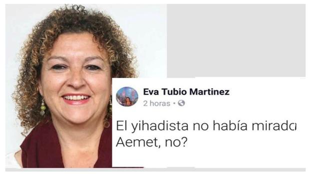 La concejala de Cultura del Ayuntamiento de Cádiz, Eva Tubio.
