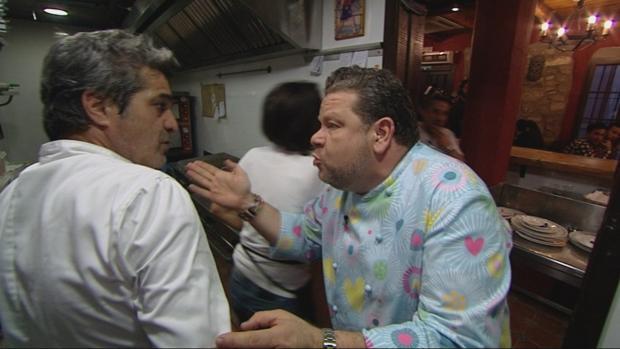 «Pesadilla en la cocina»:  Chicote sobrepasado llama «chapucero» al dueño de un restaurante