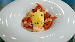 El «león come gamba» es uno de los platos más recordados de «MasterChef»