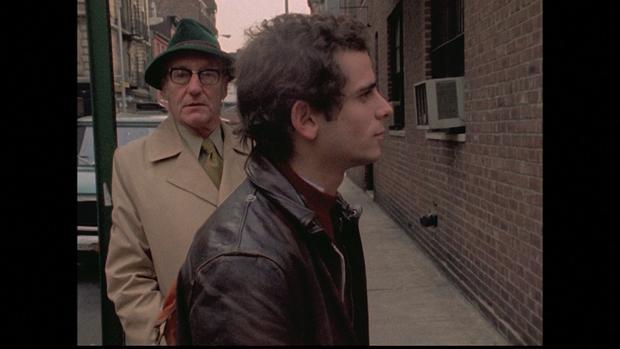 Howard Brookner y William Burroughs durante el rodaje de «Burroughs: The Movie»