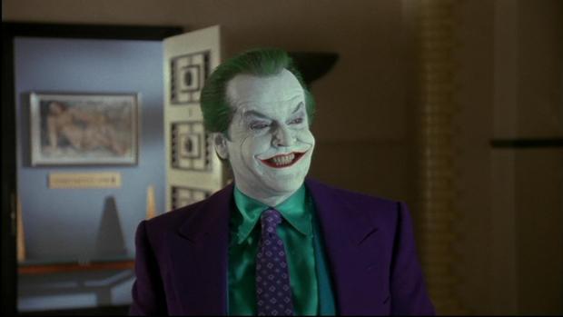 Jack Nicholson no fue la primera opción para interpretar al Joker