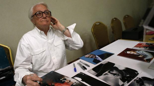 Robert Vaughn, en una imagen de archivo de 2014