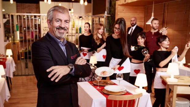 Carlos Sobera presenta «First Dates», su debut en un dating show