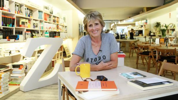 Mercedes Milá en la librería barcelonesa +Bernat