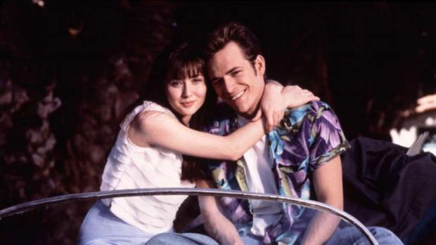 Dylan y Brenda, una de las grandes parejas de la televisión
