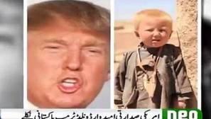 Una cadena de televisión asegura que Donald Trump nació en Pakistán