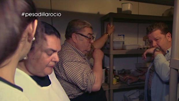 Alberto Chicote en la denominada «cámara de los horrores»