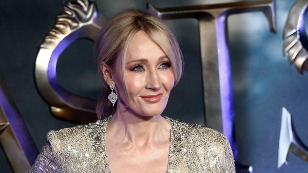 Rowling, durante la premiere de «Animales fantásticos y dónde encontrarlos»