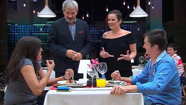 La cita muda de Rocío y Fedja, la primera pareja sorda de «First Dates»