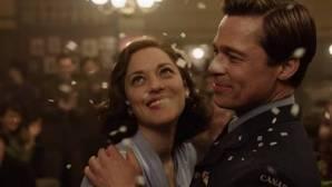 «Aliados» (***): Pitt y Cotillard: amor, guerra y melodrama