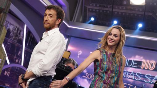 Marta Hazas colabora en el programa de Pablo Motos.