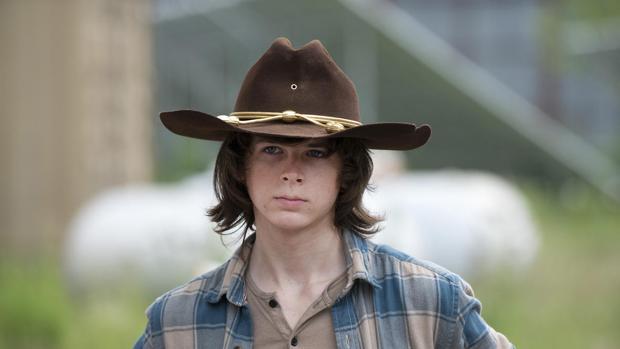 Carl Grimes en «Twh Walking Dead»