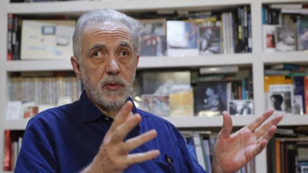 Fernando Trueba, durante la entrevista con EFE