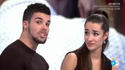 Pol explica a Adara cómo fue su relación con Miguel.
