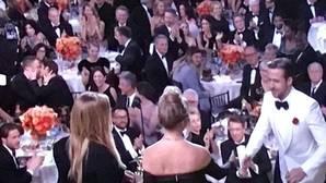 El apasionado beso del que casi nadie se dio cuenta en los Globos de Oro 2017