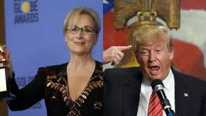 Trump responde a Meryl Streep: «Es una de las actrices más sobrevaloradas y una lacaya de Clinton»
