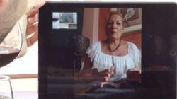 La madre de David intervino en el progrma gracias a una videollamada.