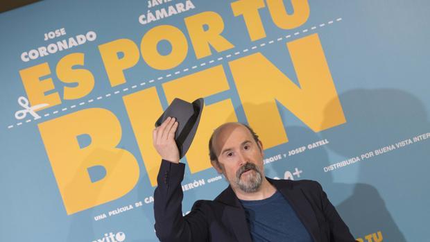 Javier Cámara, durante la presentación de la película «Es por tu bien»