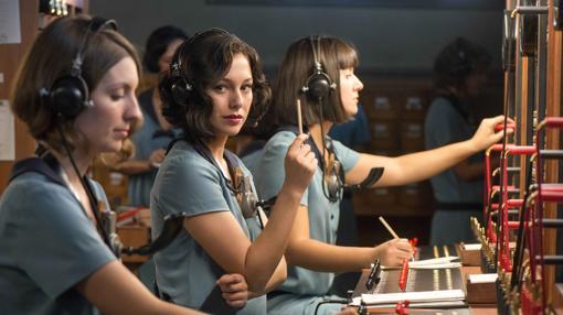 Las protagonistas de «Las chicas del cable»