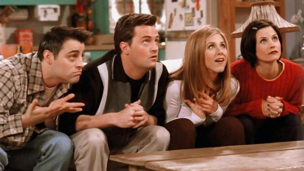 Los protagonistas de «Friends»