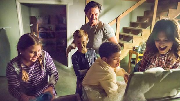 La familia Pearson, protagonista de «This is us»