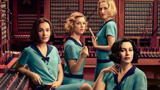 Nadia de Santiago, Maggie Civantos, Ana Fernández y Blanca suárez protagonizan «Las chicas del cable»