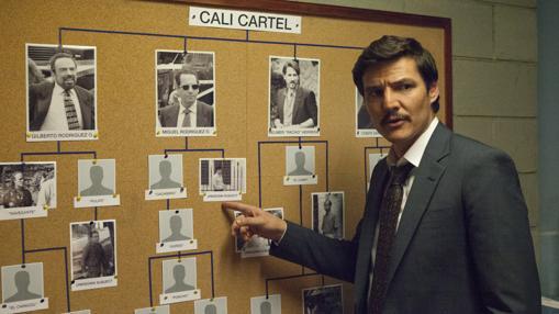 Pedro Pascal es el agente de la DEA Javier Peña