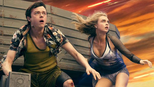 Dane DeHaan y Cara Delevingne son los protagonistas del fime «Valerian y la ciudad de los mil planetas»