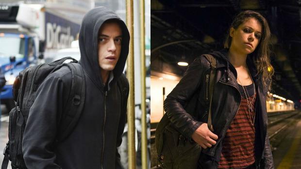 Maleek («Mr.Robot») y Maslany («Orphan Black»), protagonistas de la última edición de los Premios Emmy