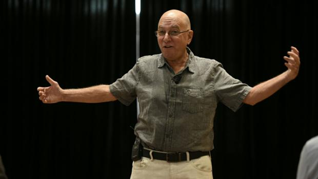 John Vorhaus durante su clase maestra en Madrid
