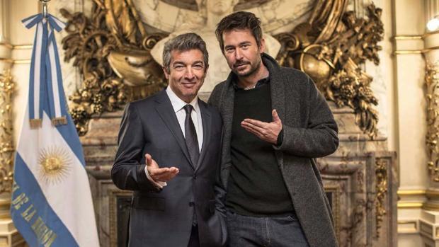 Darín y Santiago Mitre