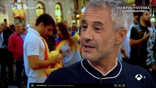 Sergio Dalma acompañó a Pablo Motos en su espacio diario «El Hormiguero»