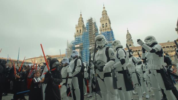 Una de las imágenes del capítulo 4 de Streetviu, centrado en Santiago de Compostela
