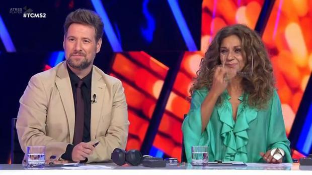 Carlos Latre y Rosario forman parte del jurado de «Tu cara me suena»