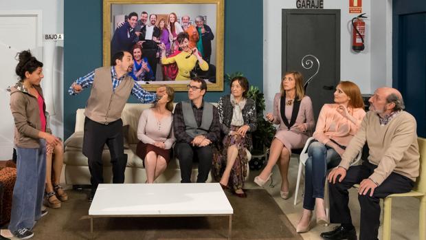 El estreno de la décime temporada de «La que se avecina» se conviritó en la emisión no deportiva más vista de la temporada