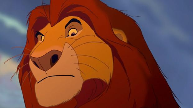 Mufasa, en «El Rey León»