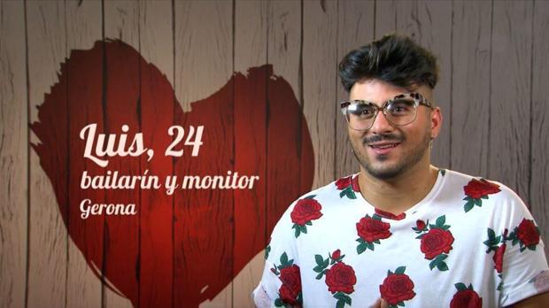Luis, comensal de «First Dates»