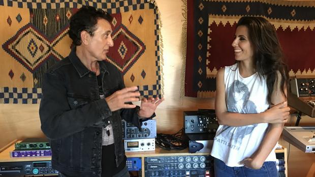 Ana Pastor, con Manolo García