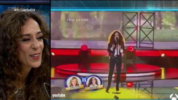 Rosario Flores, en «El Hormiguero»