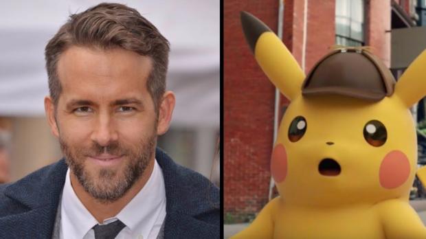 Ryan Reynolds dará vida al Detective Pikachu en la nueva película de «Pokemon»